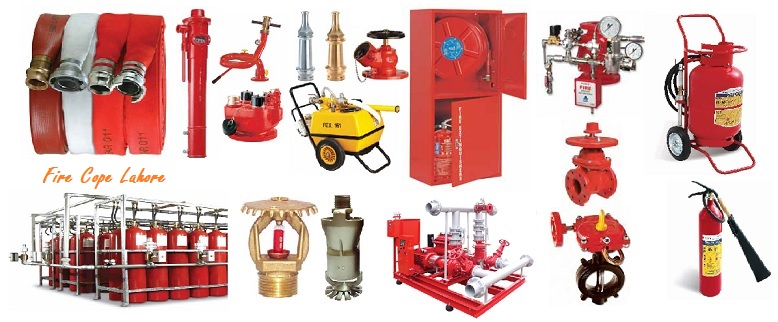 fire protection equipment in lahore